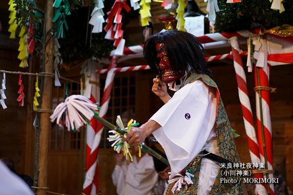 08〔 折立様 〕米良神社夜神楽(小川神楽)