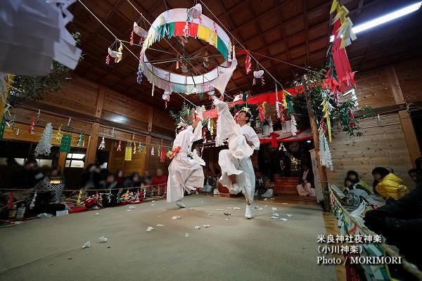 09〔 幣差 〕米良神社夜神楽(小川神楽)