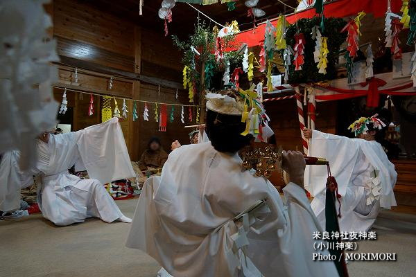 10〔 住吉 〕米良神社夜神楽(小川神楽)