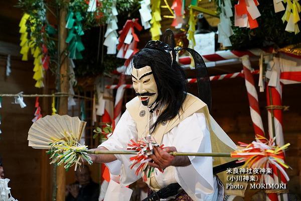 17〔 天神様 〕米良神社夜神楽(小川神楽)