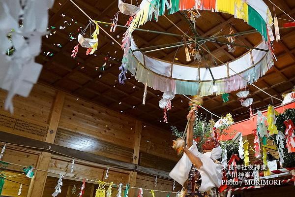 20〔 えな褒め 〕米良神社夜神楽(小川神楽)