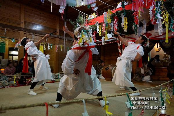 21〔 かんすい 〕米良神社夜神楽(小川神楽)