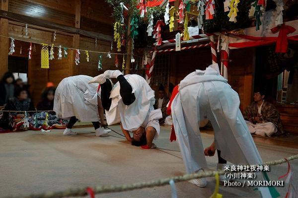 22〔 かんすい 〕米良神社夜神楽(小川神楽)
