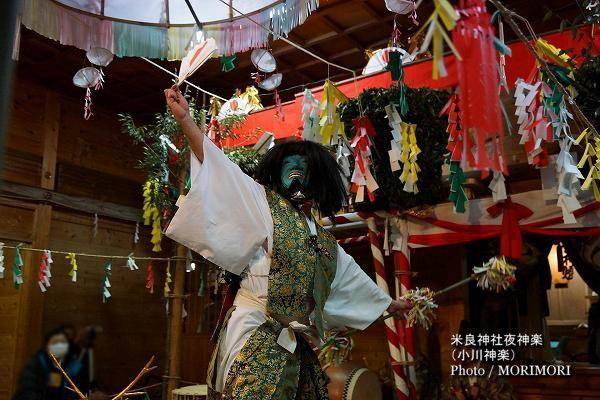 25〔 荒神の舞 〕米良神社夜神楽(小川神楽)