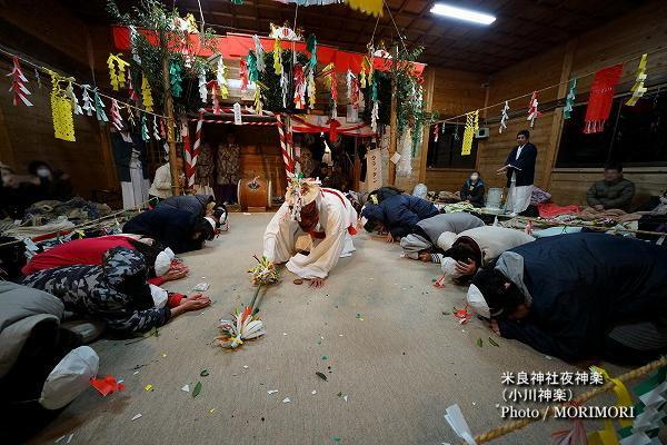 39〔 唐っ旦(カラッタン) 〕米良神社夜神楽(小川神楽)