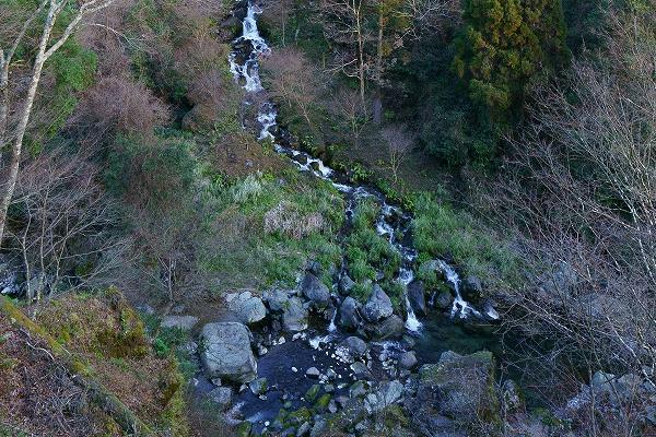 椎葉村 白水の滝 下部