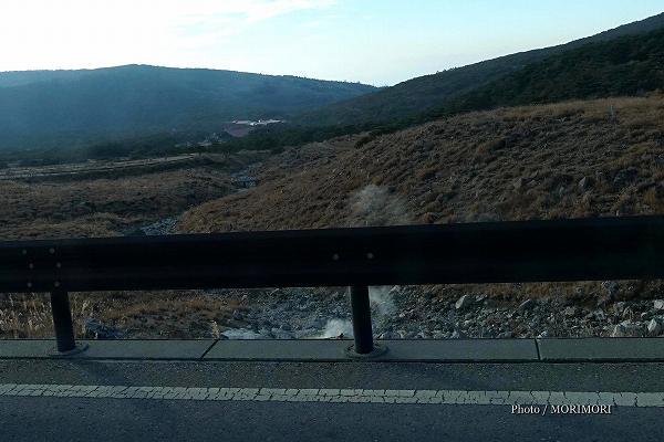 えびの高原 硫黄山の噴気 2