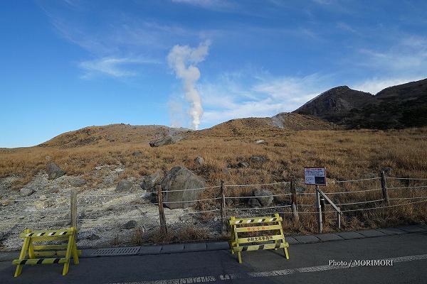 えびの高原 硫黄山の噴気 3
