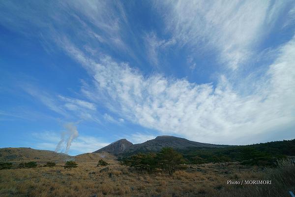 えびの高原 硫黄山の噴気 4