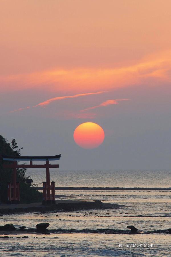 青島の日の出 9月