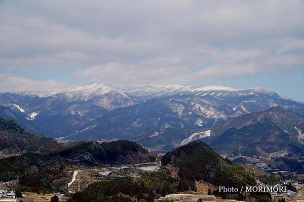 高千穂 国見ヶ丘 から見る北方角の山々
