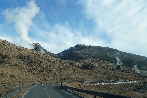 えびの高原 硫黄山