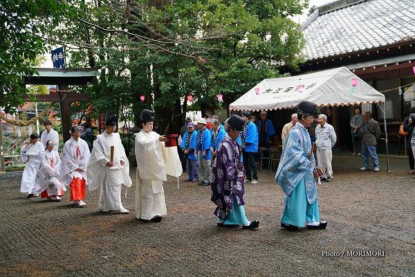 加江田神社 春例大祭