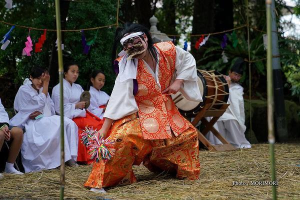 加江田神社 神楽 鬼神