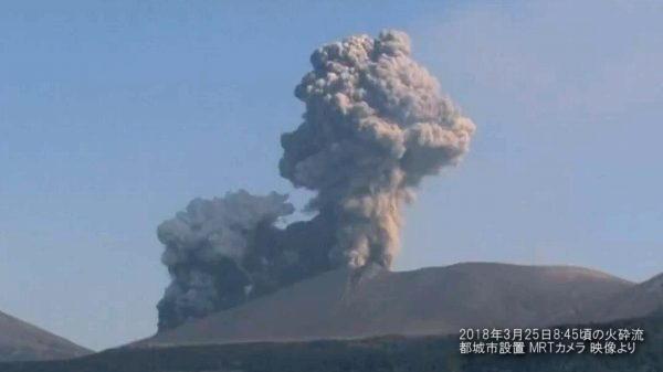 新燃岳火砕流