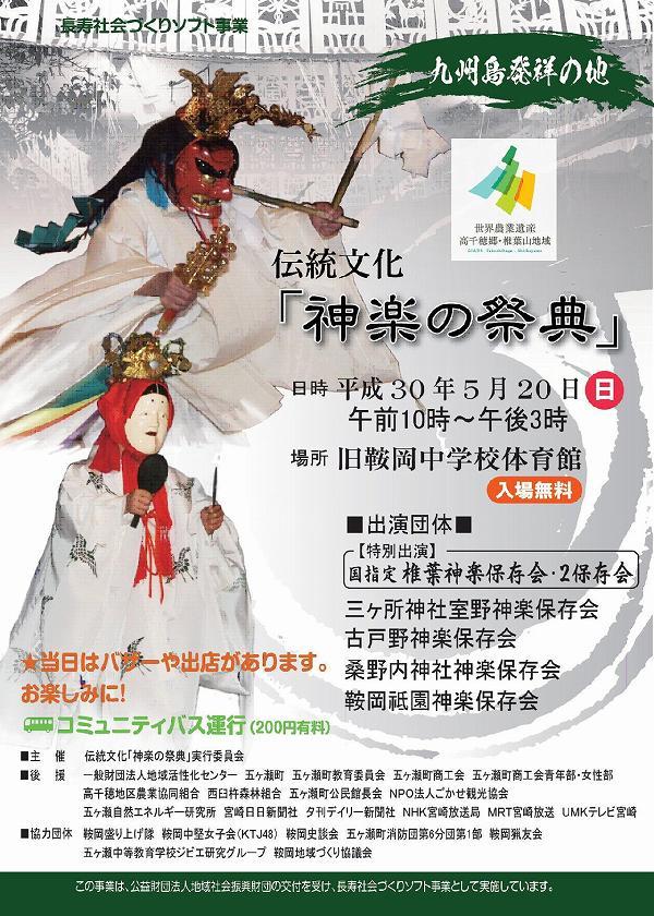伝統文化「神楽の祭典」