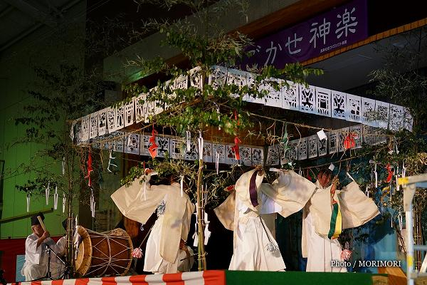 古戸野神楽 武智神随 (伝統文化 神楽の祭典にて)