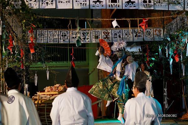椎葉 大河内神楽 柴引き (伝統文化 神楽の祭典にて)