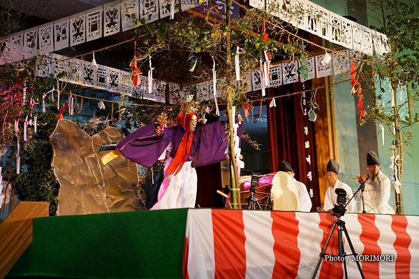 桑野内神社神楽 鈿女 (伝統文化 神楽の祭典にて)