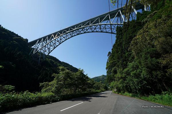 青雲橋(せいうんばし)日之影町