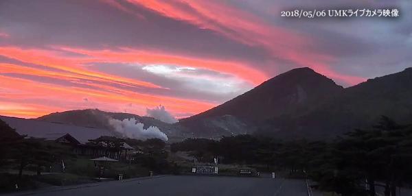 えびの高原 UMK ライブカメラ映像
