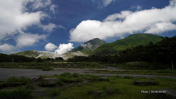 えびの高原硫黄山州への噴気
