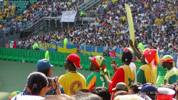 2002FIFAワールドカップ(スウェーデンvsセネガル)大分にて