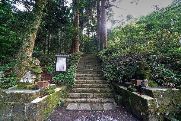 白鳥神社の阿吽(あうん)の仁王像