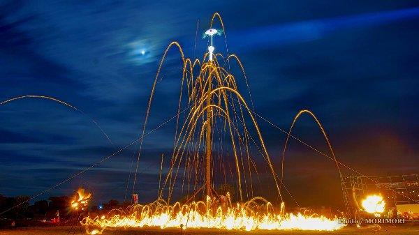 都井岬 火祭り