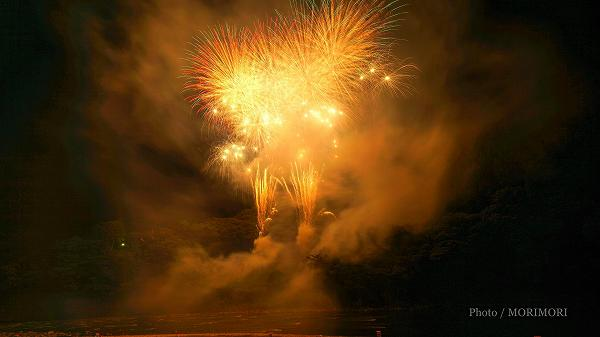2018年 西米良村 やまびこ花火大会  1