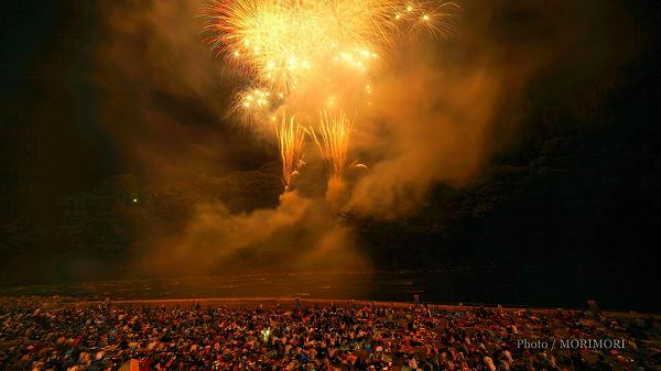2018年 西米良村 やまびこ花火大会  2