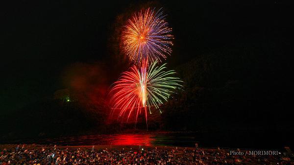 2018年 西米良村 やまびこ花火大会  4