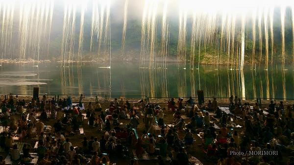 2018年 西米良村 やまびこ花火大会  7 ナイアガラ