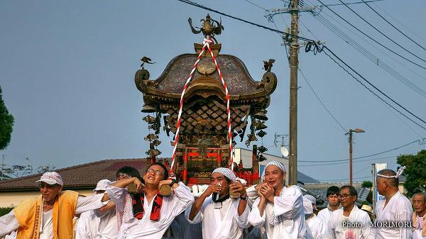 国富町 本庄稲荷神社夏祭り 神輿