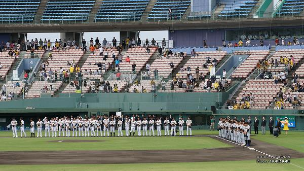 ファーム選手権(阪神vs巨人) KIRISHIMAサンマリンスタジアム宮崎にて