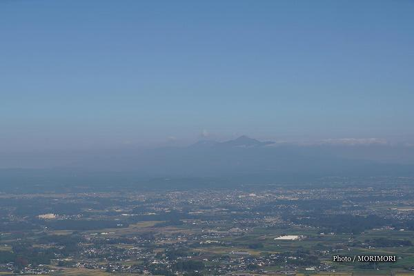 霧島連山と都城盆地