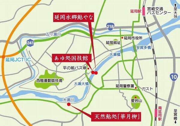 概略地図(リーフレットより)