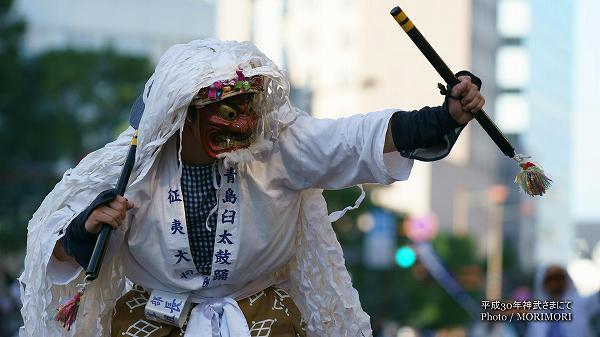 平成30年度 神武さまにて「青島臼太鼓踊り」