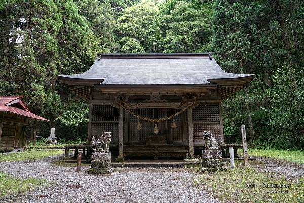 古戸野神社 拝殿