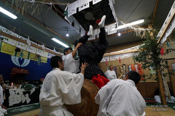 古戸野神楽 七貴神(八つ鉢)