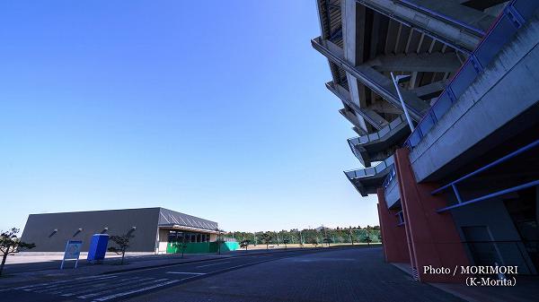 サンマリンスタジアムと2019年1月完成新ブルぺン