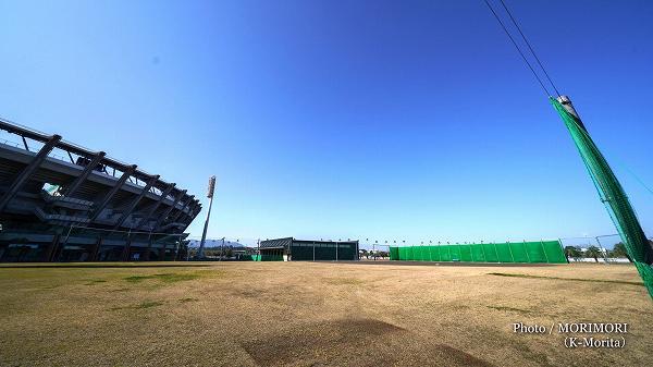 2019年完成練習場(宮崎県総合運動公園サンマリンスタジアム横)