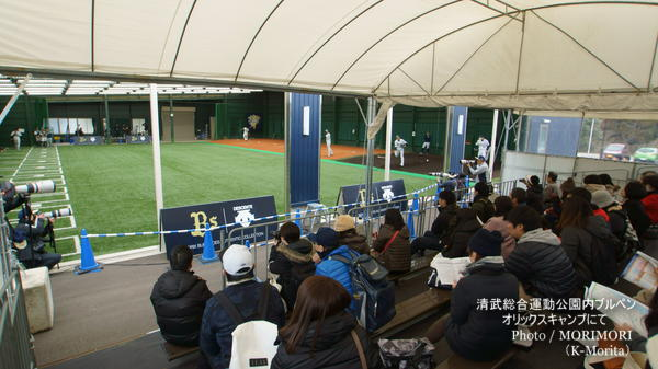 清武総合運動公園内ブルペン(オリックスキャンプ地)