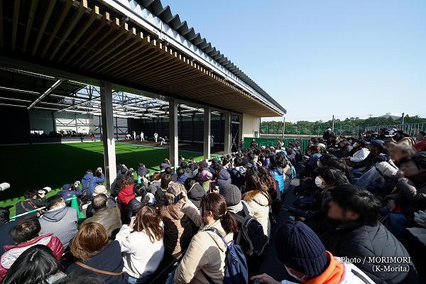 宮崎県総合運動公園 サンマリンスタジアム横の新ブルペン(サンライズブルペン)
