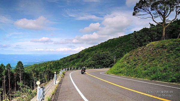 えびの高原へ向かう県道30号
