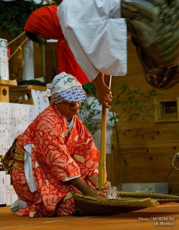 生目神社神楽 杵舞