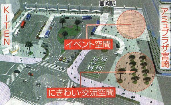 宮崎駅西口再開発