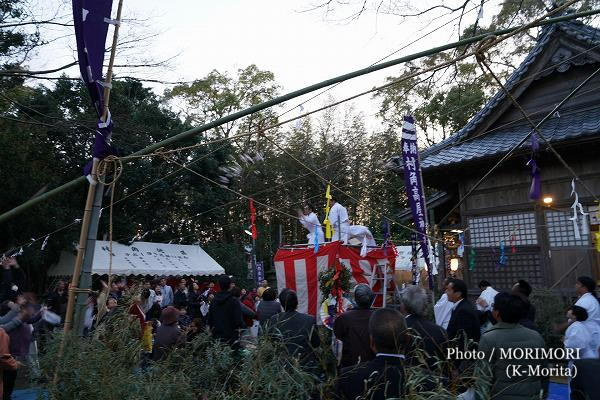 高屋神社神楽 せんぐまき