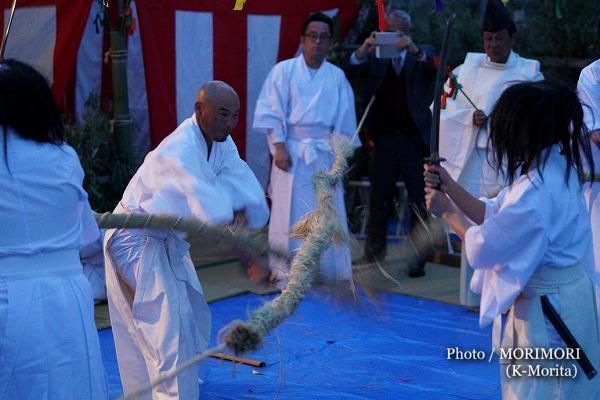 高屋神社神楽 蛇切り