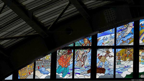 宮崎ブーゲンビリア空港 ステンドグラス 1